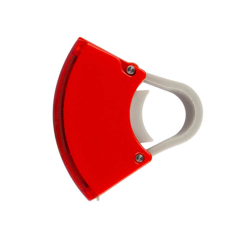 Bookman - Curve Rear Light - Red - Les Facteurs