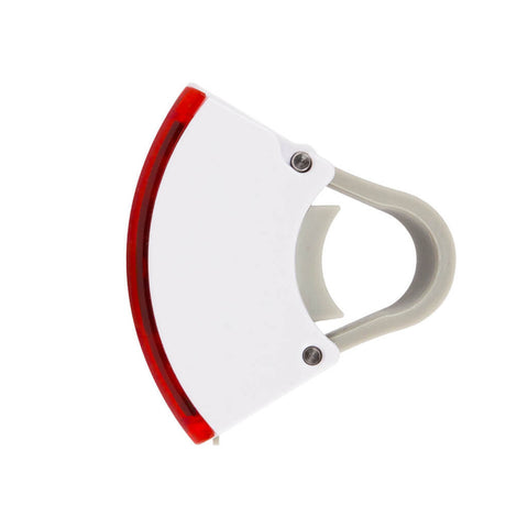 Bookman - Curve Rear Light - White - Les Facteurs