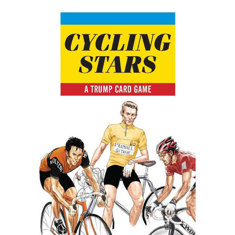 Laurence King - Cycling Stars - A trump card game - Les Facteurs