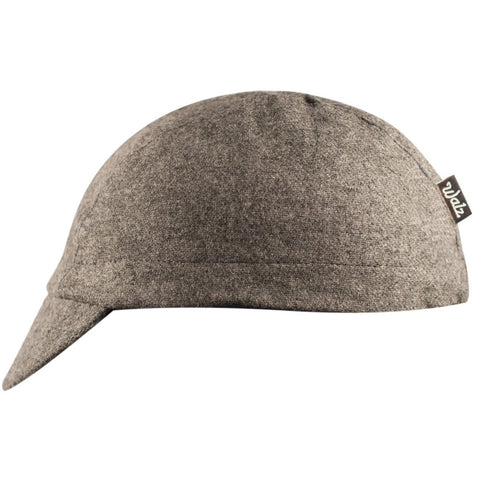 Walz Caps - Grey/Black Stripe Wool 3-Panel - Les Facteurs