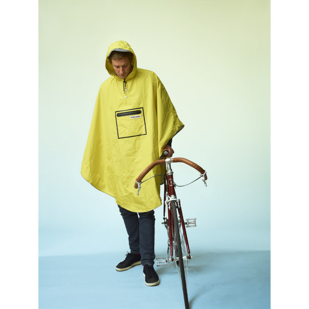 The people's poncho - The People's Poncho - Hardy fisherman's yellow poncho - Les Facteurs