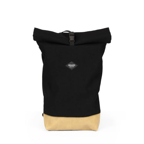 Braasi Industry - Braasi - Rolltop Canvas Black - Les Facteurs