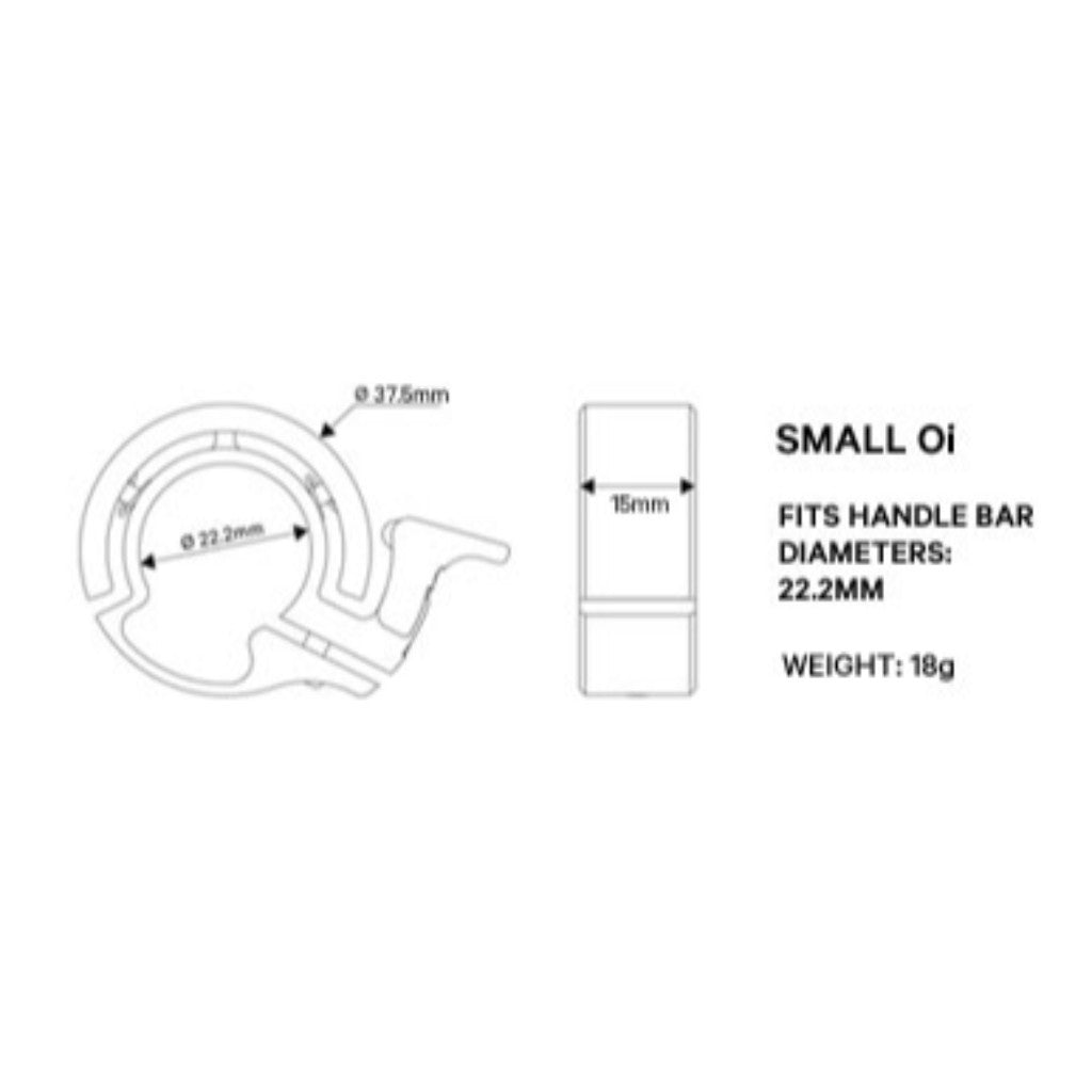 Knog - Oi BIKE BELL - Small - Copper - Les Facteurs