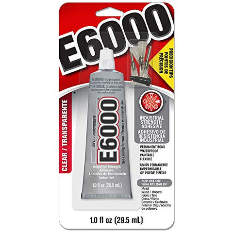 Amazon.com: E6000 231020 Adhesive with Precision Tips, 1.0 fl oz
