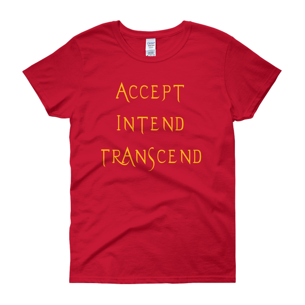 Accept, Intend, Transcend Tee