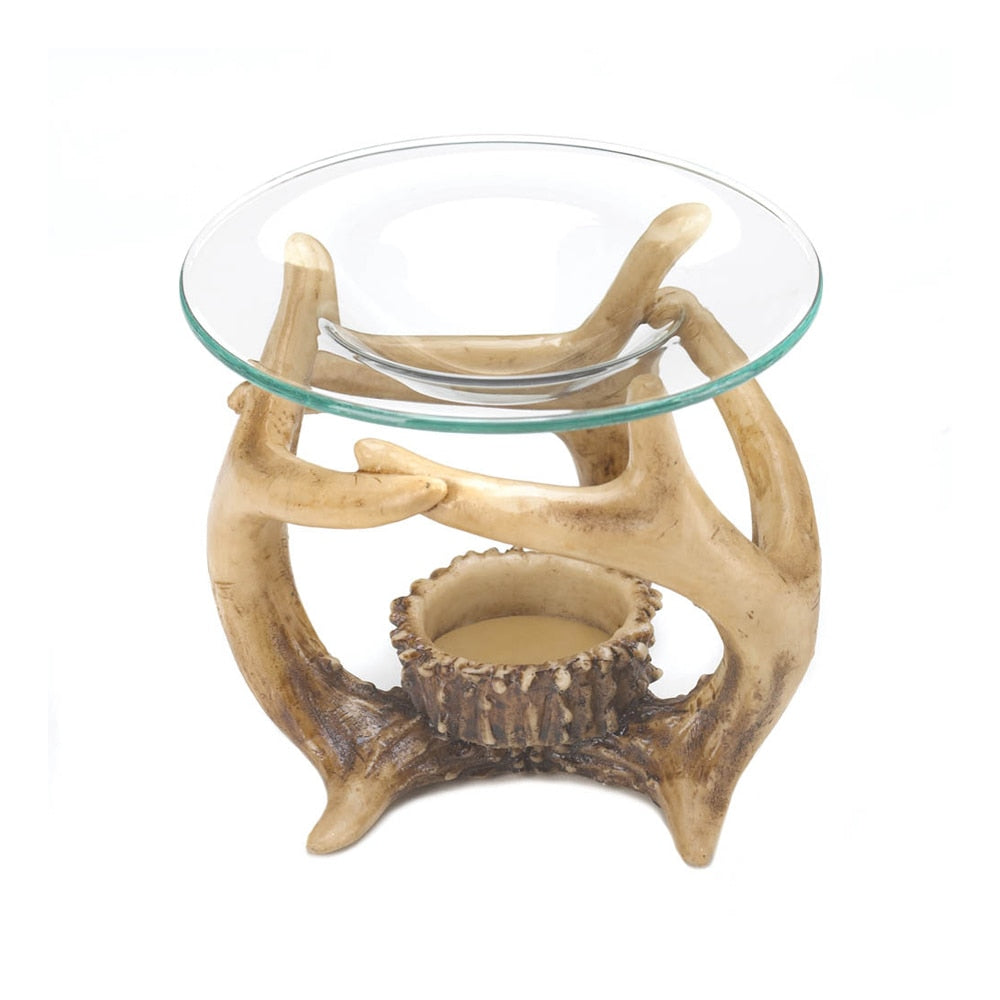 Home Decorative Antler Oil Warmer