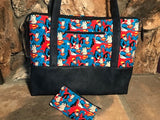 Who Doesn't Love Superman? Purse / Knitting Bag