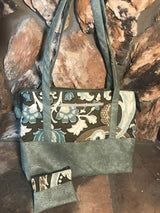 Sage & Willow Purse / Knitting Bag