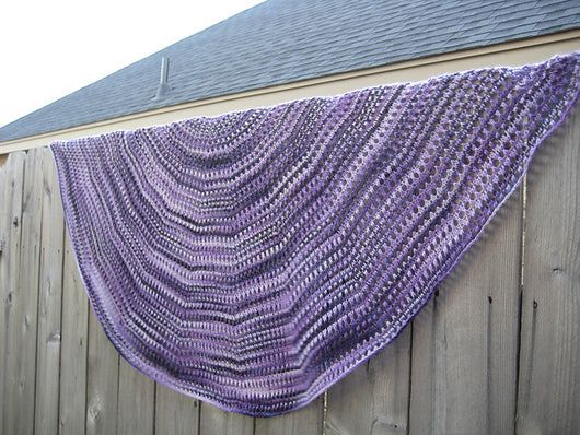 Lace Rims Shawl