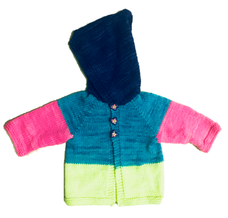 Playful Monster Baby Hoodie