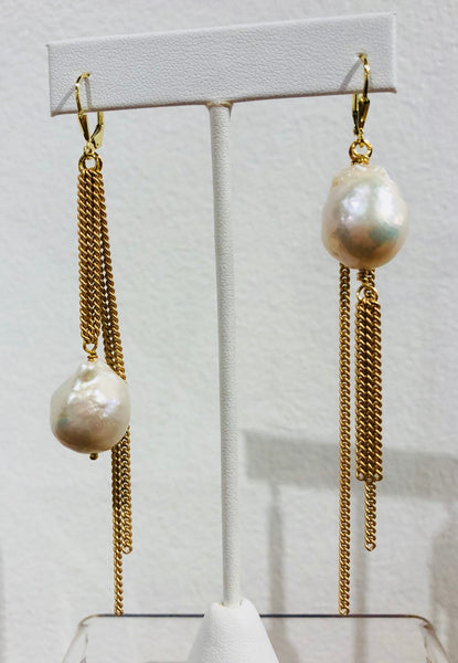 ST Baroque Pearl white/gold