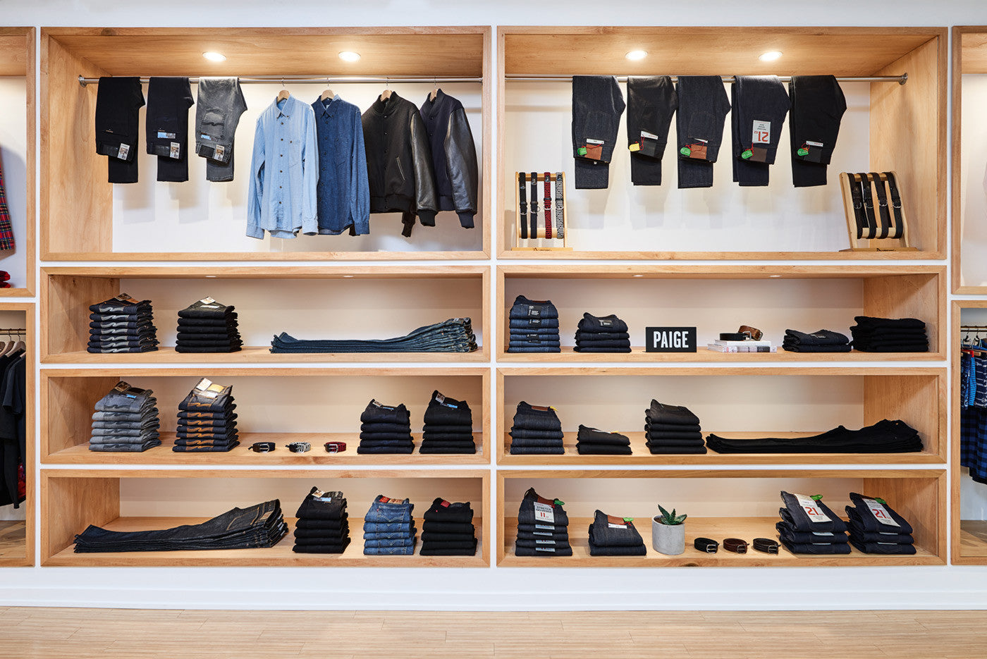 Stomping Ground Denim Wall