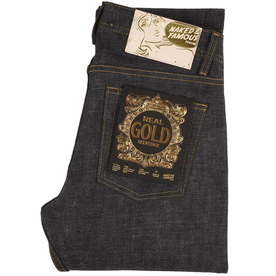 REAL GOLD SELVEDGE