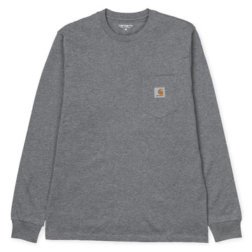 L/S POCKET T SHIRT