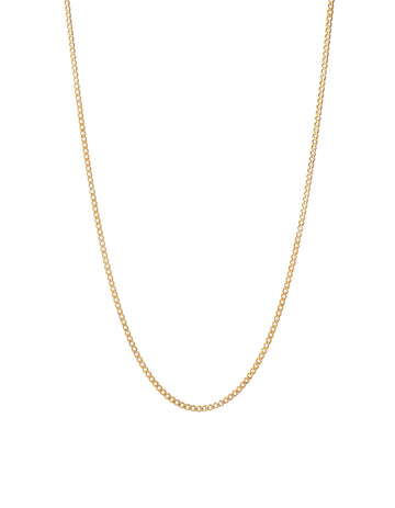 3MM CUBAN CHAIN  GOLD