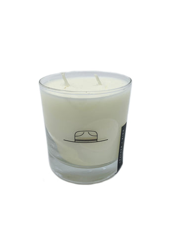 CANDLE - LEATHER & PINE