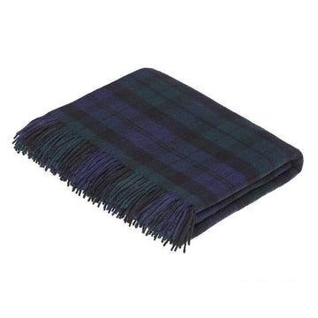 BLACK WATCH THROW