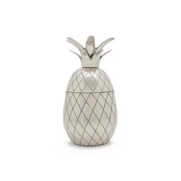 SILVER PINEAPPLE TUMBLER