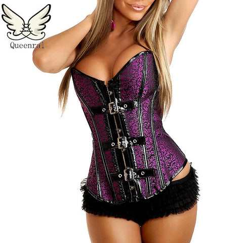 Gothic Sexy Lingerie Steampunk Corset