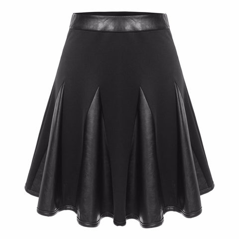 Lolita Leather Dolly Skirt