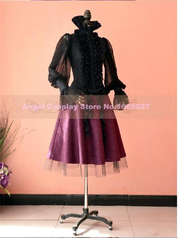 Gothic Barbie Style Lolita skirt