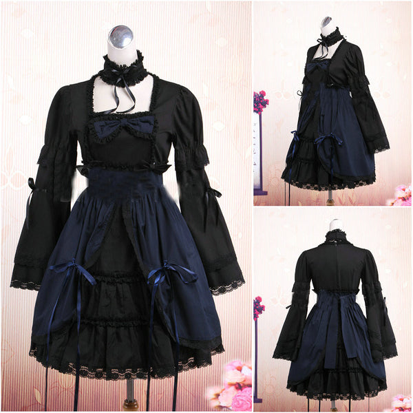 Timeless 1860s Victorian Short Skirt Dress