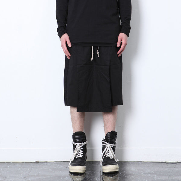 Gothic Low Crotch Men Culottes