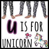 U is for Unicorn (Kid's leggings)