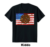 All American Dabbin Donut (Unisex & Lady Tee) ($19.99 on Amazon)