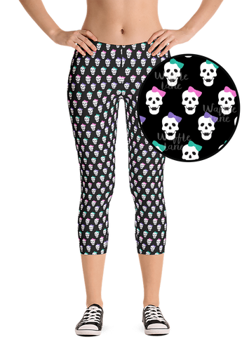 Bad to the bow (Capri Leggings)