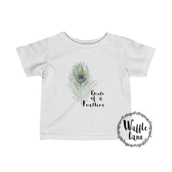 Birds of a Feather (Infant Fine Jersey Tee)
