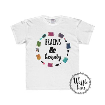 Brains & Beauty (Youth Regular Fit Tee)