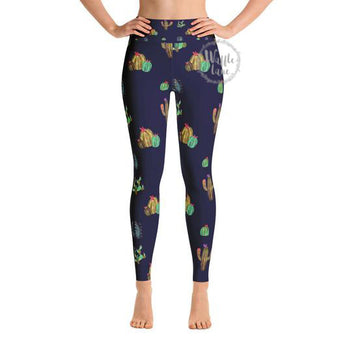 Cactus (Yoga Leggings)