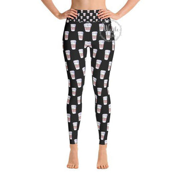 Coffee Cup (Yoga Leggings)