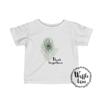 Flock together (Infant Fine Jersey Tee)