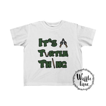 It's a Turtle Thing (Toddler Fine Jersey Tee)