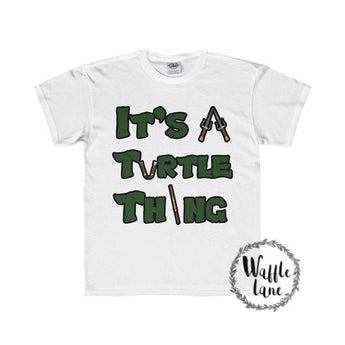 It's a Turtle Thing (Youth Regular Fit Tee)