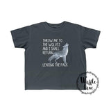 Leader Of The Pack (Toddler Fine Jersey Tee)