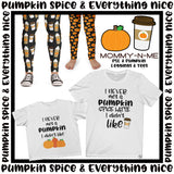 Pumpkin Patch (Capri Leggings)