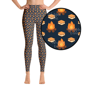 S'more Love (Yoga Leggings)