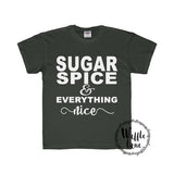 Sugar Spice & Everything Nice (Youth Regular Fit Tee)