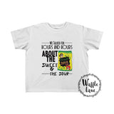 Sweet & The Sour (Toddler Fine Jersey Tee)