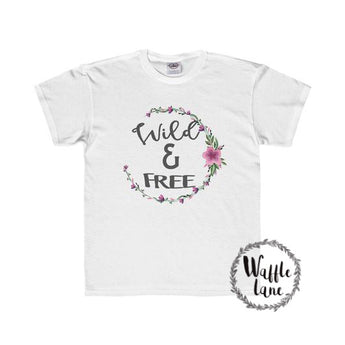 Wild & Free (Youth Regular Fit Tee)