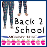 Back 2 School (Capri Leggings)