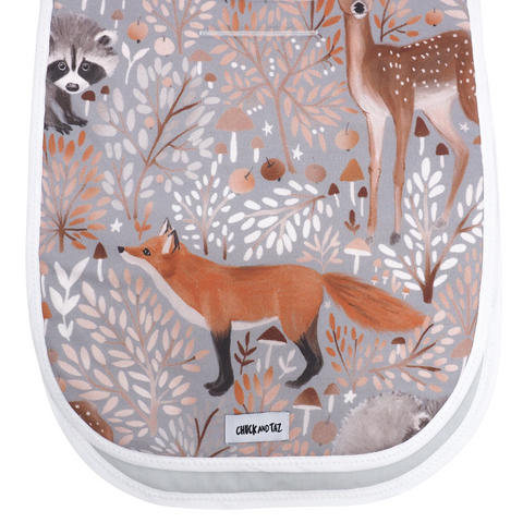 Forest Animals Pram Liner