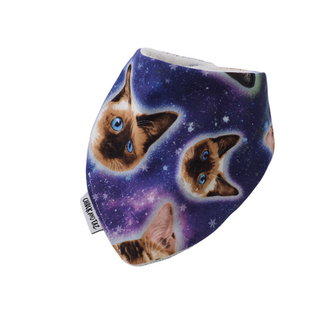 Space Cats Bib