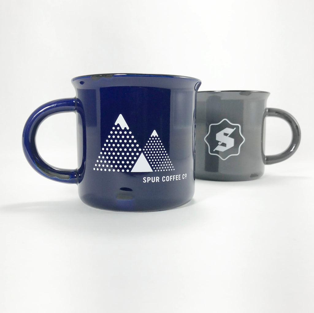 Mountains Ceramic Camping Mug