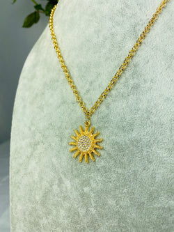 Elegant Sun Necklace