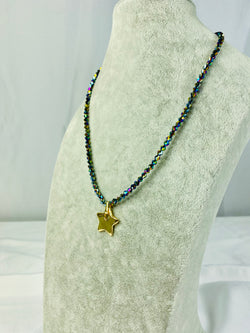 Shiny Crystal Colorful Necklace