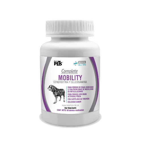 Tabletas masticables Complete Mobility 60 tab.